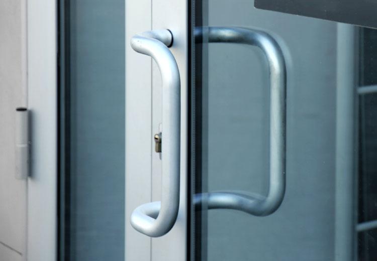 Aluminium Shop Front Doors